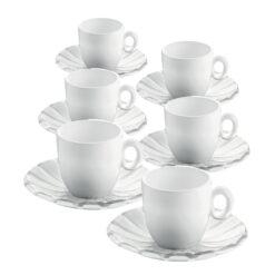 Set 6 Tazzine CaffÉ Grace Trasparente