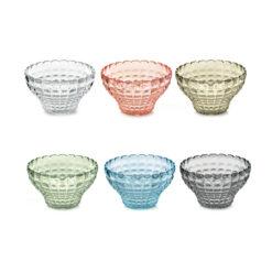 Set 6 Contenitori Cm.12 Tiffany